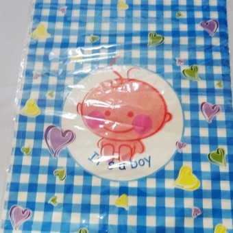 Blue baby Shower bags, guest favours