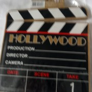hollywood director prop, cut movie star costume
