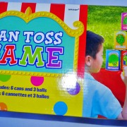 carnival party game unisex can toss game