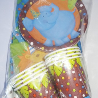jungle party tableware boys birthday party supplies