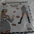 sexy jailbird costume fancy dress