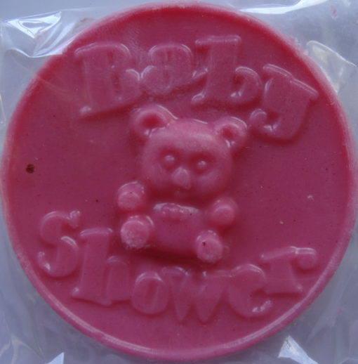 baby shower soaps, unisex prizes or guest favours